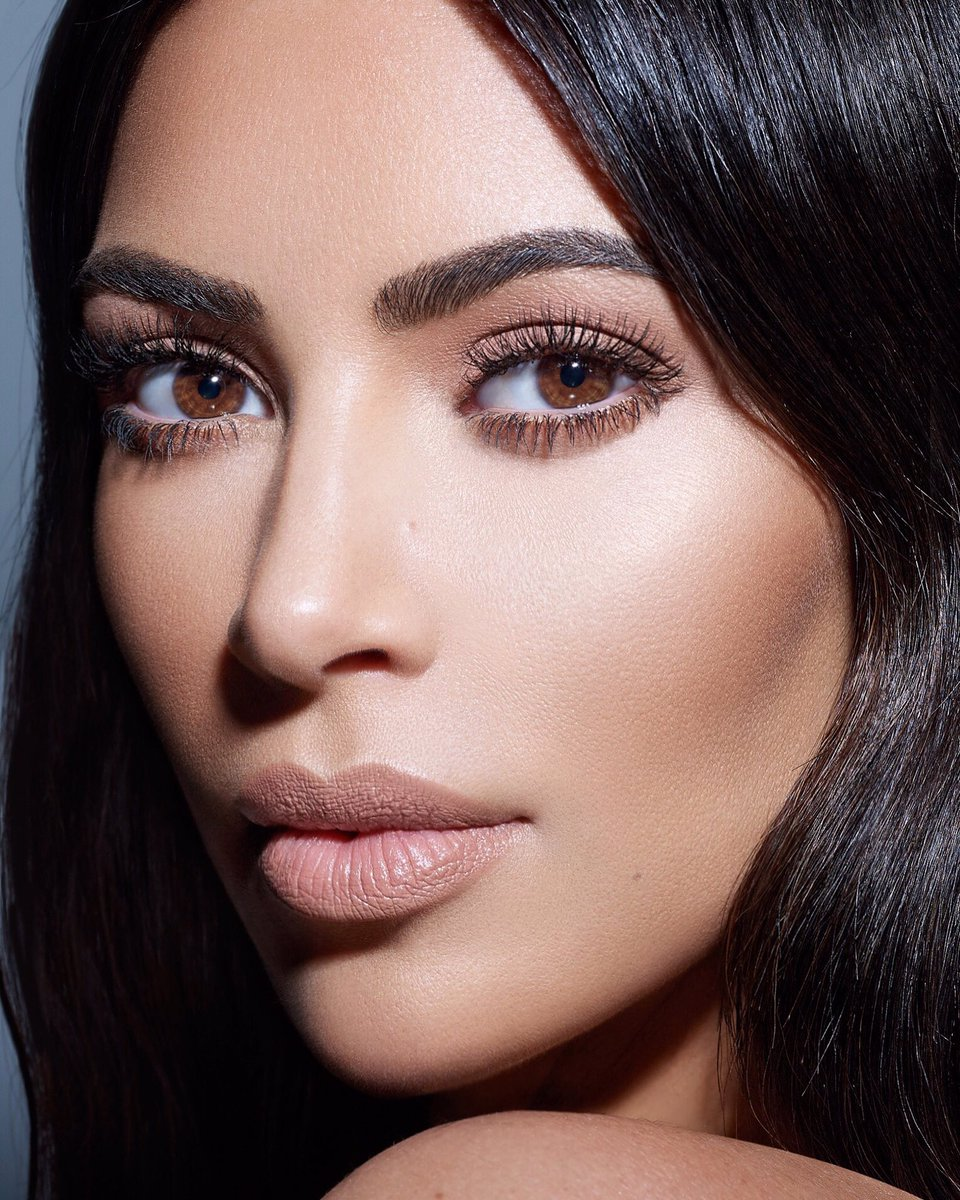 Kim Kardashian stunning beauty shots for #KKWBeauty