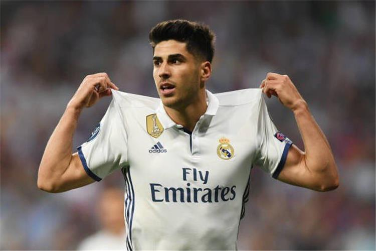 اسينسيو يسجل الهدف الأول لريال مدريد