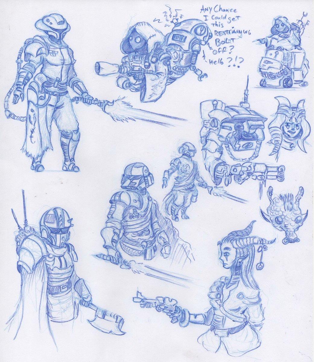 More #StarWars Rando Ralrissians   #art #sketches #doodles #fanart #artisttwitter #jedi #sith #jawas #jawa #droids #droid<br>http://pic.twitter.com/o0YMHSoHlj