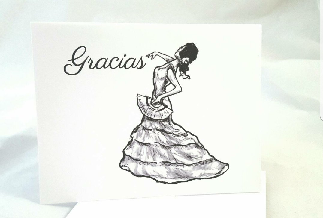 Original #flamenco #dancer thank you #notecards Link below! #etsy @Etsy #art #ink #Spanish #gracias #handmade #retwt  http:// etsy.me/2nyVc9s  &nbsp;  <br>http://pic.twitter.com/F8RU7eSPFH