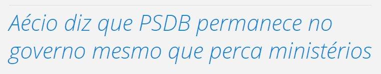da série 'não tenho culpa, votei no aécio'  (o PSDB é o partido mais sem-vergonha e oportunista que já existiu)