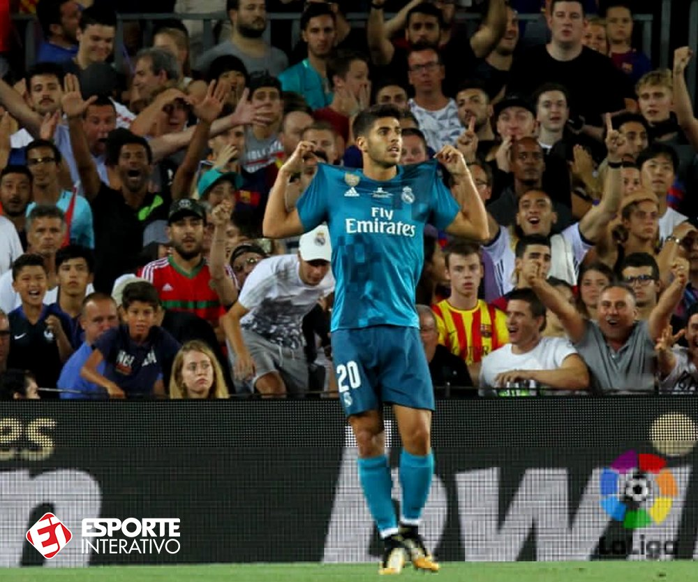 .@marcoasensio10 fez gol em estreias de:  La Liga Champions League Copa do Rei Supercopa da UEFA Supercopa da Espanha