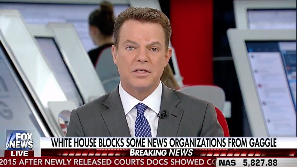 Fox's Shep Smith: We couldn't find a Republican willing to come on and defend Trump https://t.co/YHq5Sj0pTd