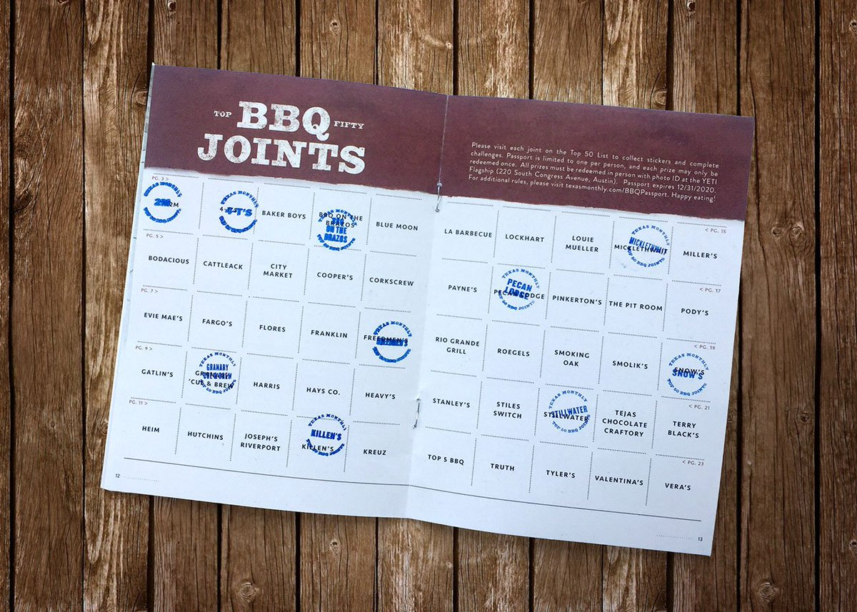 'Cue fans: we have some important news about the #TXBBQPASSPORT!