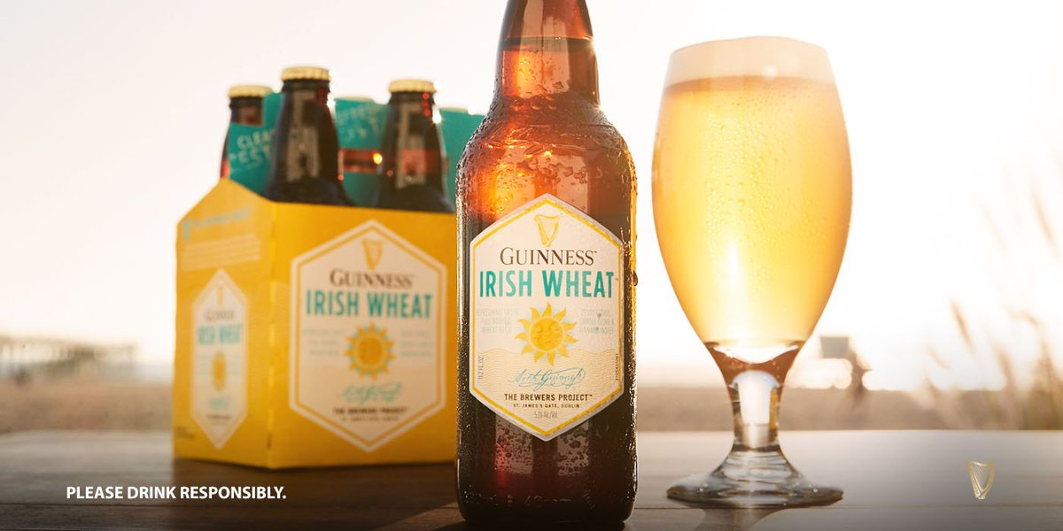 Sun's out, Irish Wheat's out. #Guinness #WheatBeer #Summer<br>http://pic.twitter.com/hXpP3INiEN