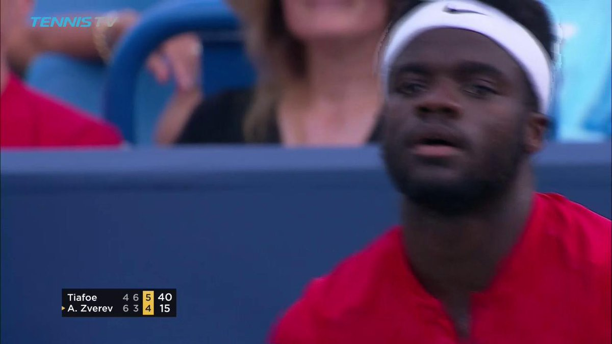 🇺🇸🇺🇸🇺🇸  @FTiafoe notches BIGGEST win of his career, ousting No.7 Zvere...