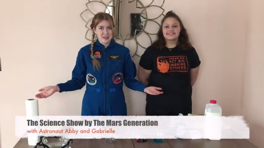 Watch out for cool #science experiments with @AstronautAbby on our youtube channel. Be sure to subscribe!  http:// bit.ly/2sIzdM8  &nbsp;   #STEM<br>http://pic.twitter.com/Xpoibwgnvd