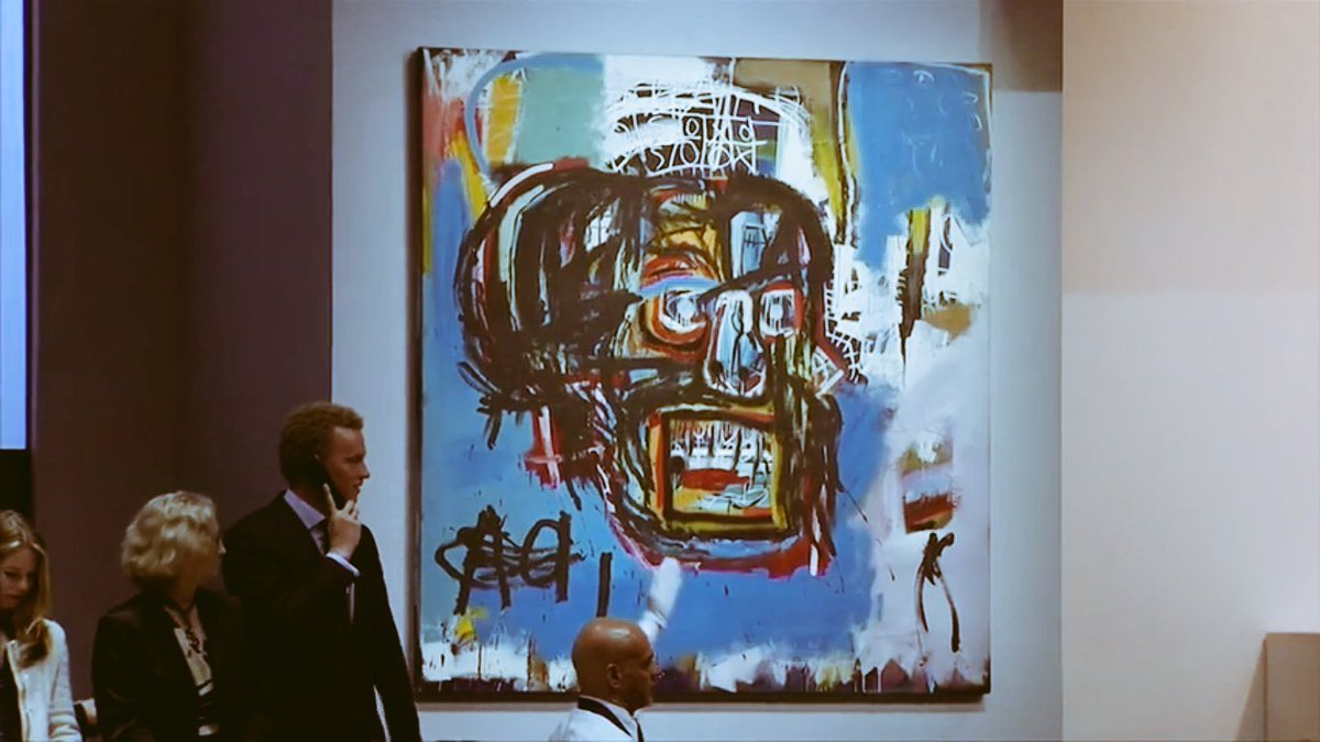 $110.5 Million #Basquiat <br>http://pic.twitter.com/X2YQB3Pubr