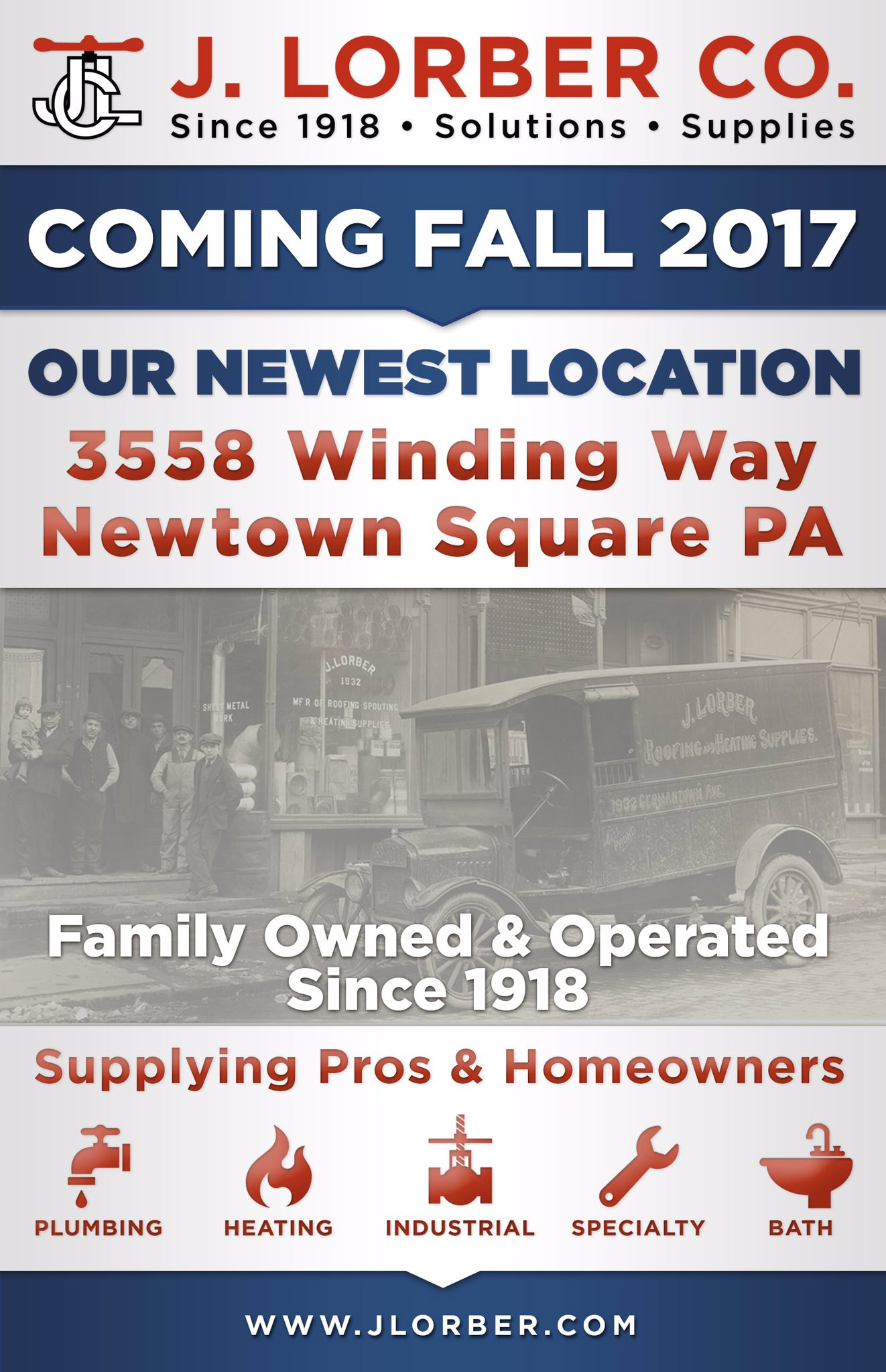 J Lorber On Twitter Hy To Announce Our Plans Open A New In Newtown Square Pa Delco Since1918 Phillysupply Phillyproud