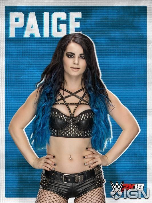 .@RealPaigeWWE is officially on the #WWE2K18 roster! @IGN https://t.co...