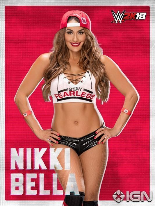 Nikki and Brie @BellaTwins are officially on the #WWE2K18 roster! @IGN...