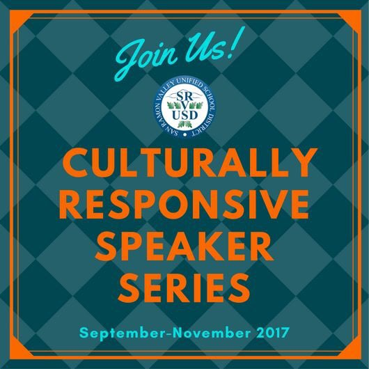 .@SRVUSD1 Culturally Responsive Speaker Series featuring several renowned experts. #Parents - Please join us &gt;&gt;  http://www. srvusd.net/news/view?d=x&amp; id=1502879924061&amp;group_id=1218730266304&amp;return_url=1502918680794 &nbsp; … <br>http://pic.twitter.com/9c1BRj336P