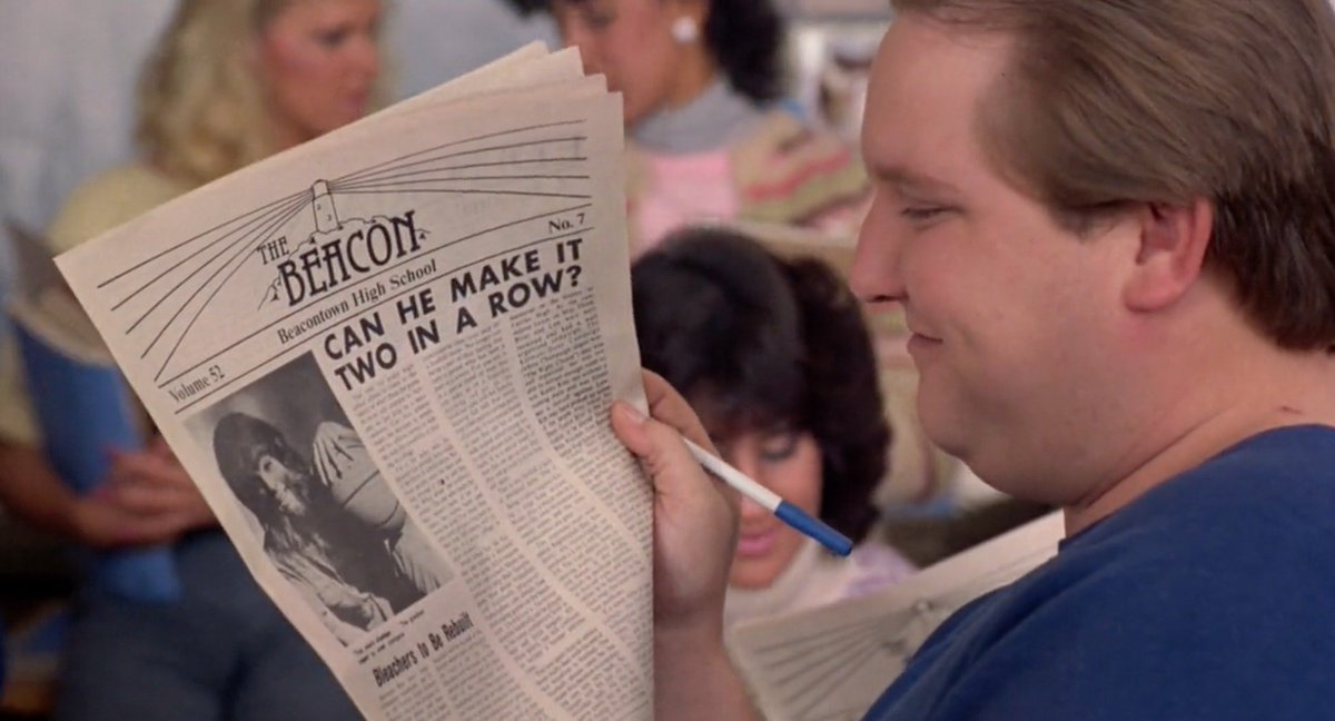 CAN HE MAKE IT TWO IN A ROW? (Teen Wolf, 1985) #Headlines #Newspaper #FakeNews<br>http://pic.twitter.com/ZYSMIrhY91