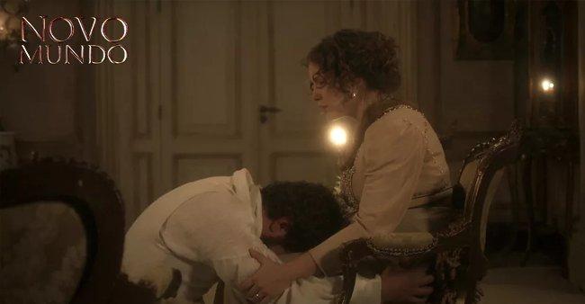 Pedro pede perdão de joelhos para Leopoldina, mas a princesa...  😮👏https://t.co/m9l7ZDcfEM #NovoMundo
