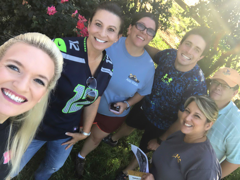 Team building &amp; #geocaching at Patterson Farms was an adventure @CorriherLipeMS #funtimes #newfriends<br>http://pic.twitter.com/eF1tBOX3Yz