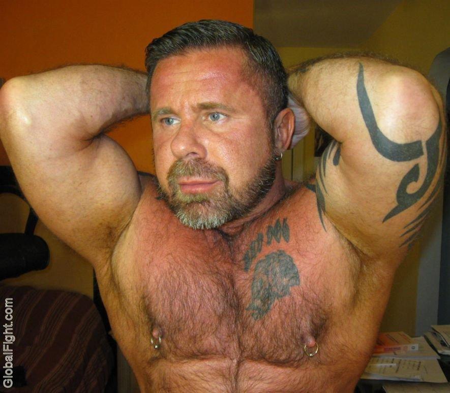 My tats wrestling bud from  http:// GLOBALFIGHT.com  &nbsp;   #tattoos #man #wrestler #men #tattooed #guy #tats #hairychest #beards #gallery #bearded<br>http://pic.twitter.com/e62wUKETcj