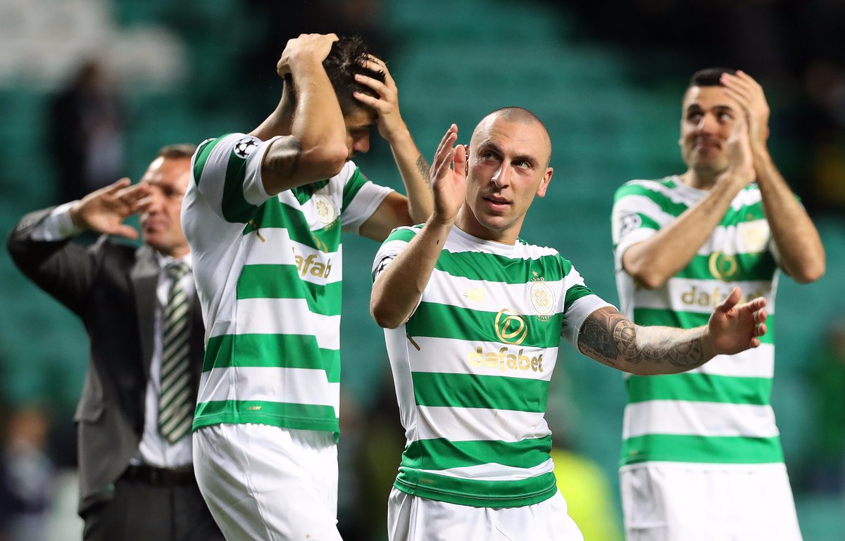 Brendan Rodgers celebrates a great night for @celticfc. How far can he...