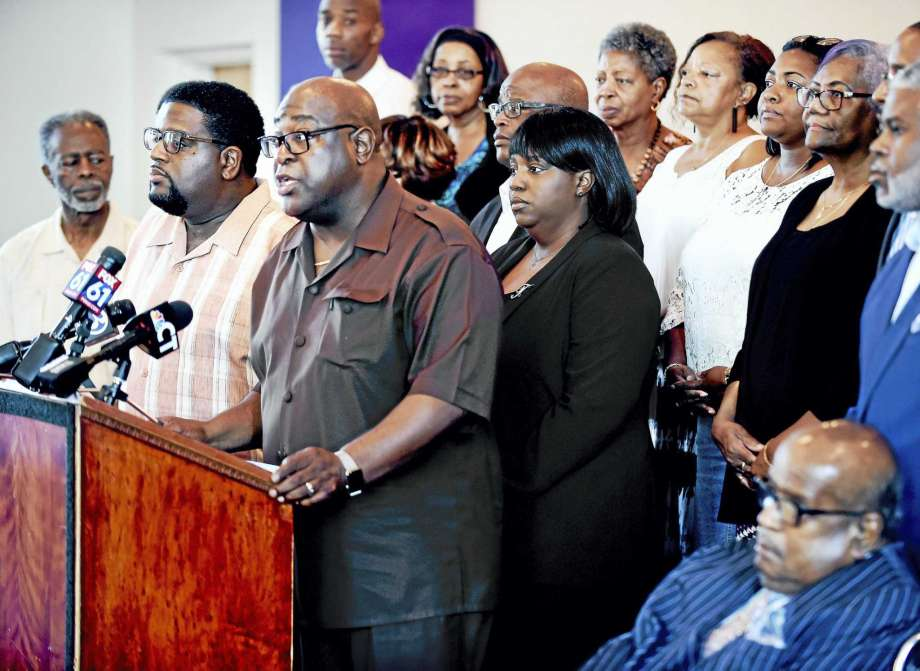 #NewHaven clergy rally against hate and racism, seek unity against those who instill fear #NHV  https://t.co/jVXc87pZvl
