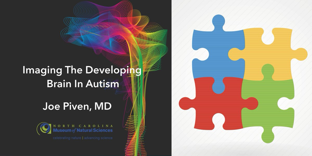 Next Science Café: Imaging the Developing Brain in Autism w/ Joe Piven, MD @naturalsciences on 8/24 - 7 PM: https://t.co/cCWaiCe53D #Raleigh