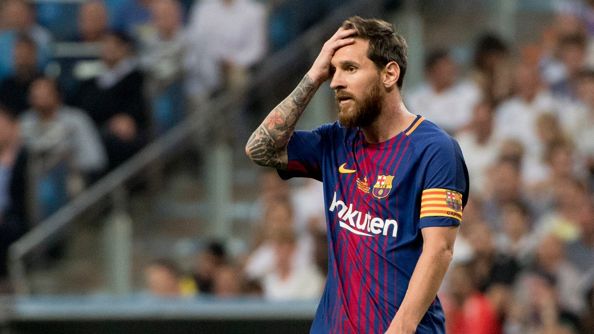 Only themselves to blame but it&#39;s sad: #Messi is all #Barcelona have left. Destroyed La Masia, their team, their style and their reputation. <br>http://pic.twitter.com/re8Iumkjsg