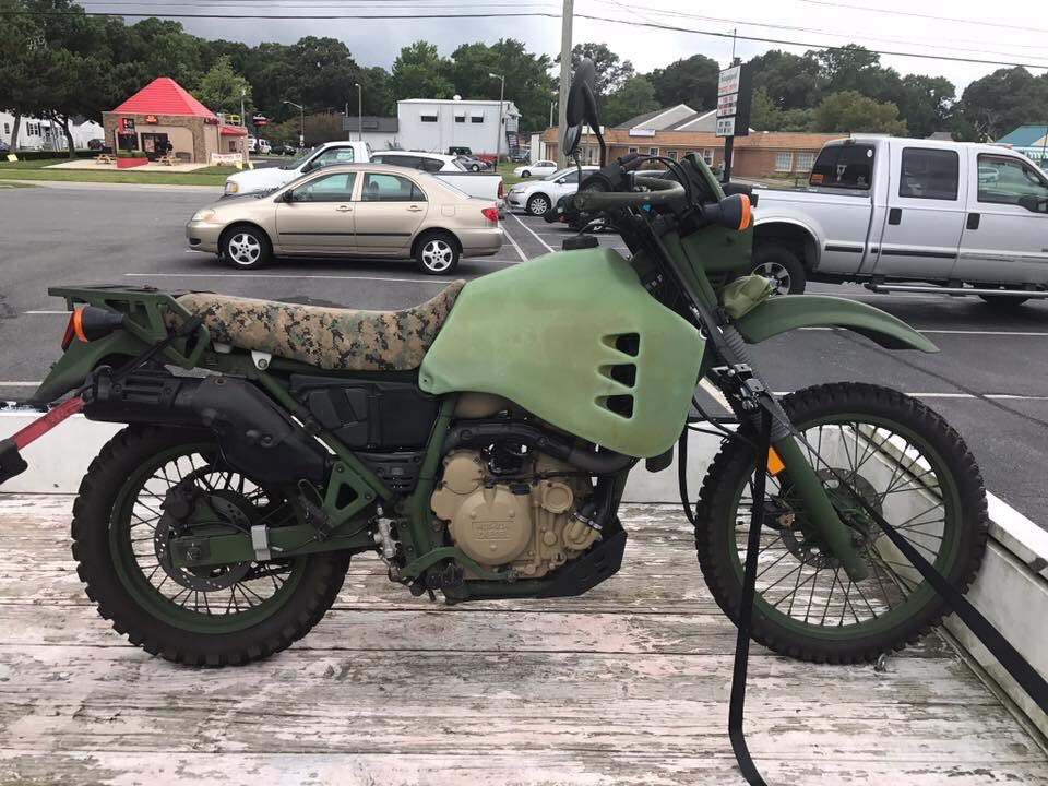 We&#39;re starting to see various U.S. agencies sell off examples of the #Diesel #KLR made by HDT. #motorcycle<br>http://pic.twitter.com/AODIJpWgZT