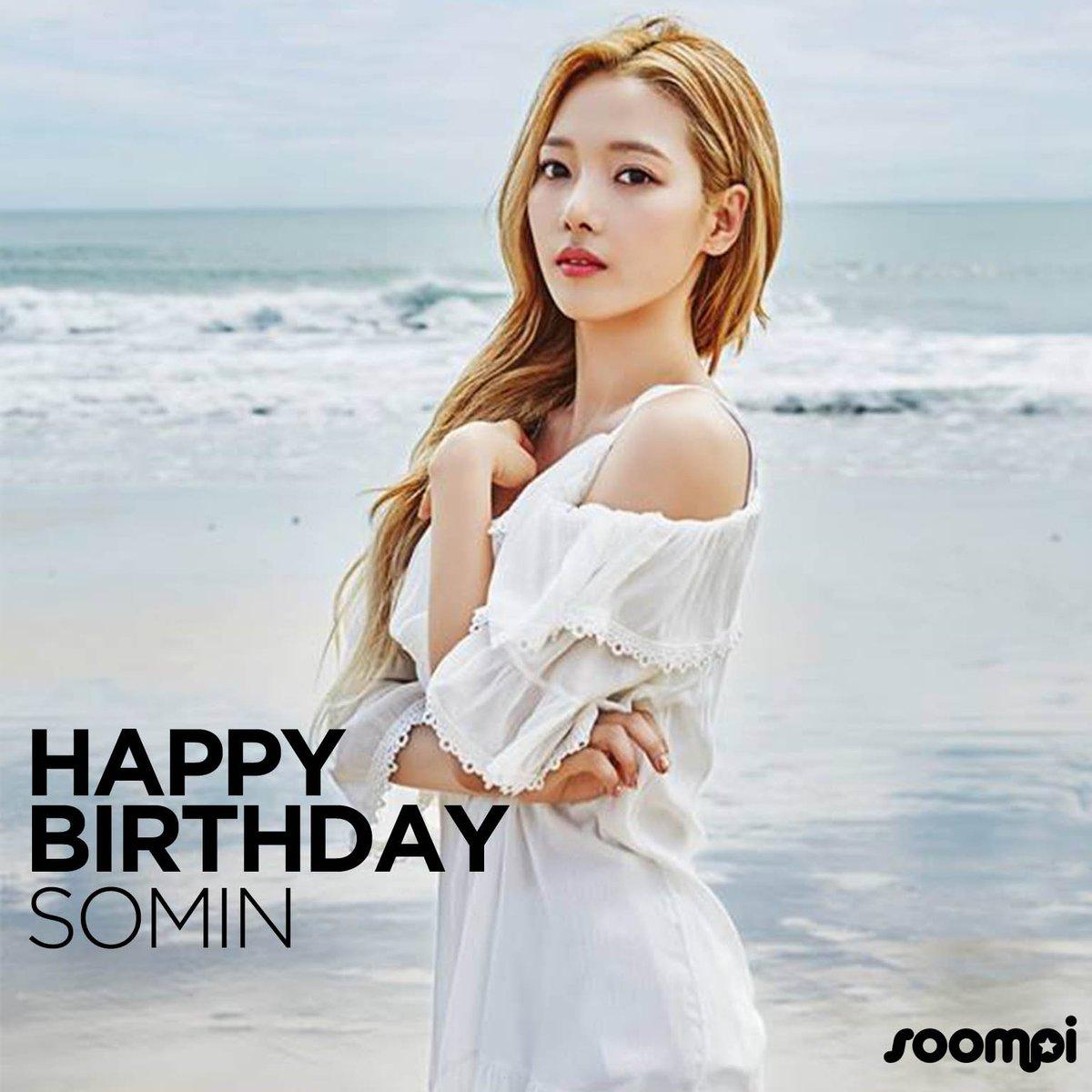 Happy Birthday to #KARD's Somin! #HappyS...