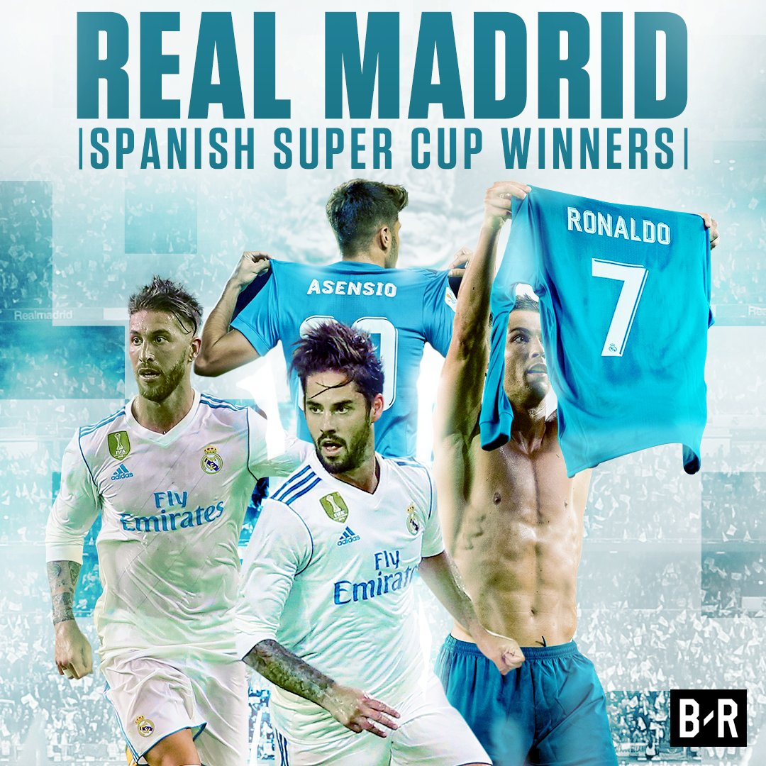 Real Madrid are Spanish Super Cup Champions for the first time since 2012 🏆
