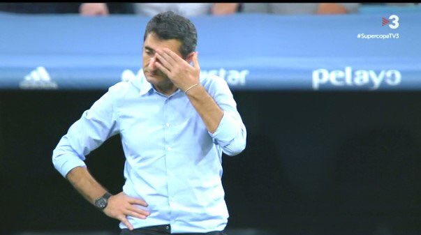 When you find out that not even Messi can hide your mediocrity as coach #ValverdeOut #BartomeuDimiteHoy #RMAFCB <br>http://pic.twitter.com/WbTEHd36x2