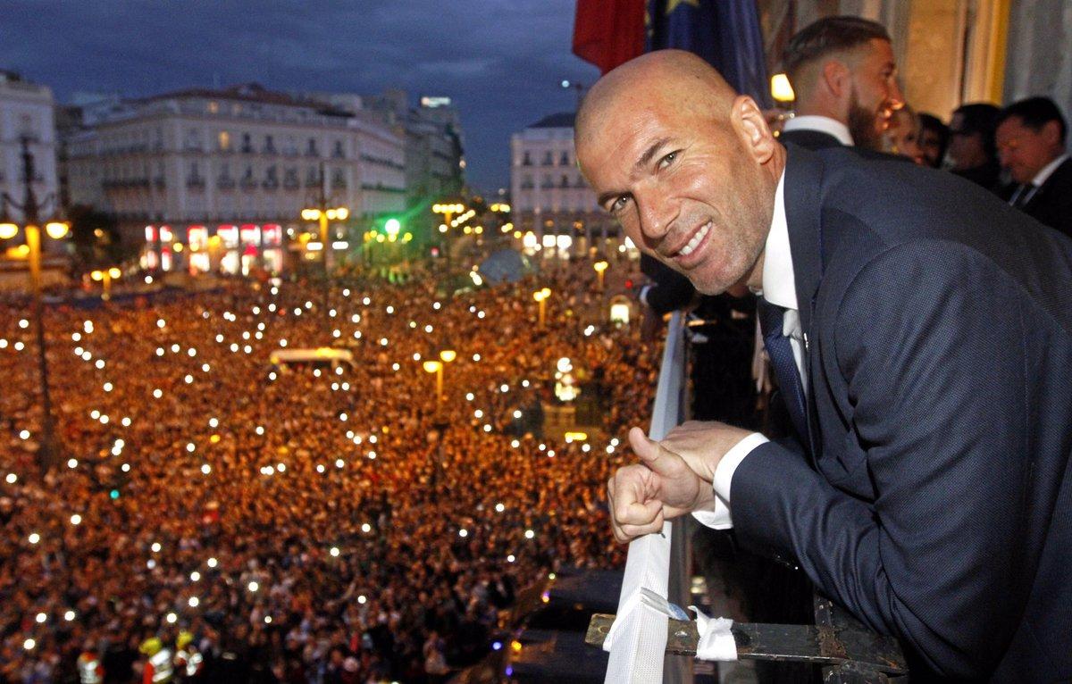 [#Stat] Zidane entraîneur avec le Real  90 Matches 7 Titres 1 Titre tous les 12,85 matches   🔥🔥🔥