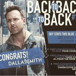 Wishing a big congrats to our pal @dallassmith on his 4th Number ☝🏼 hit on #Canadian #Country #radio ! Cheers 🍻🤠🤘🏼