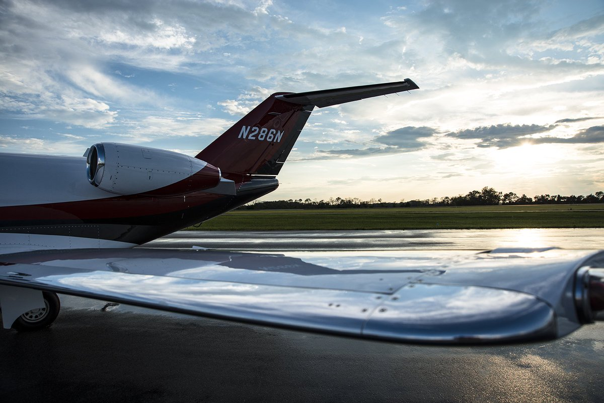 """""""We are homesick most for the places we have never know."""" -Carson McCullers  #Nicholasair #wingtipwednesday #bizjet #citationcj3<br>http://pic.twitter.com/RATVJWo6fB"""