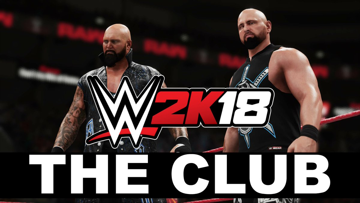 #GoodBrothers coming through. #WWE2K18 @LukeGallowsWWE @KarlAndersonWW...