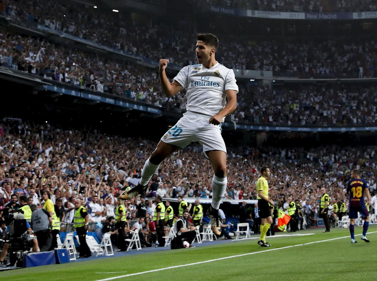 Marco Asensio sparkles as Real Madrid thump a beleaguered Barcelona in the Spanish Super Cup | @lukedbrown https://t.co/jr2ro3eFKX