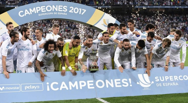 Who needs Cristiano Ronaldo?!  Real Madrid have brushed aside Barcelona to win the Spanish Super Cup.  Full story ➡ https://t.co/VMNQzA7l4K