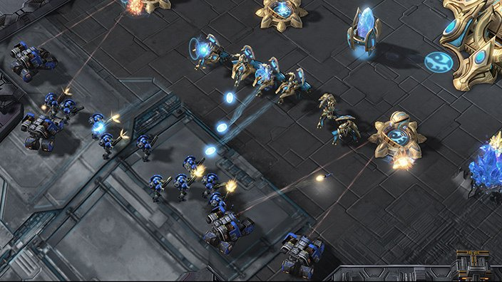 Blizzard and DeepMind turn Starcraft II into an AI research lab  http:// ow.ly/v5TJ30epFsF  &nbsp;   #starcraft2 #AI #deepmind <br>http://pic.twitter.com/vnSenpwLcJ