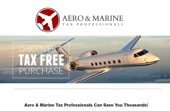 Save Thousands with @aeromarinetax on aircraft or yacht purchases #aircraftforsale #bizjet #bizav #yachtforsale  http:// ow.ly/eTaB30esDlW  &nbsp;  <br>http://pic.twitter.com/MX3CkJxyWI