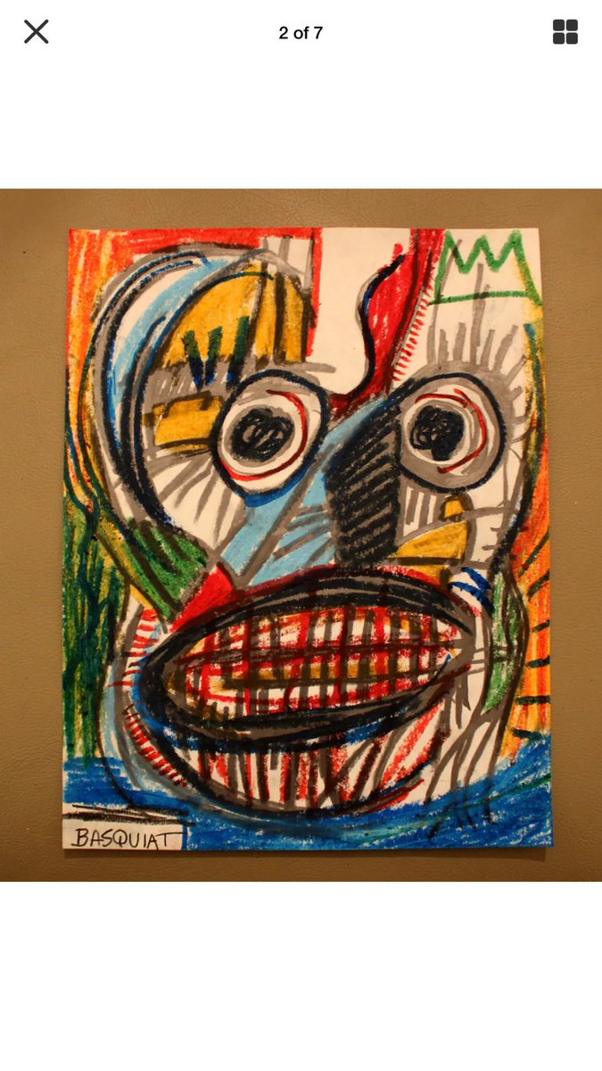 Does the fact that loving Basquiat&#39;s art make me some kind of racist now?? I respect his talent and heart! #basquiat <br>http://pic.twitter.com/pGFw3mQABw