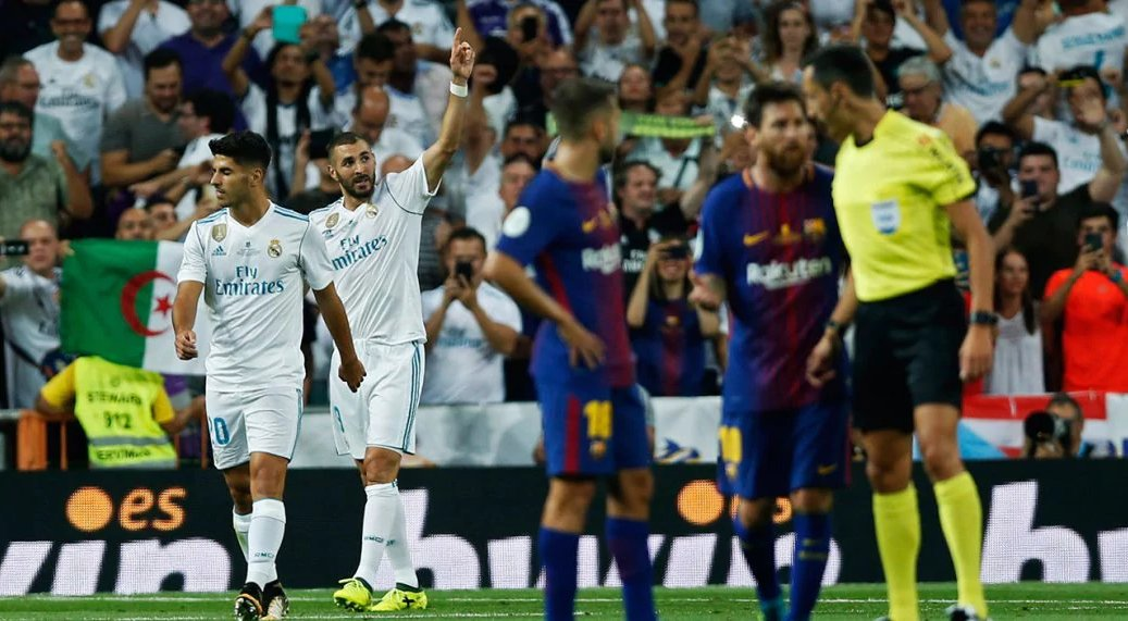 Real Madrid (without four starters) silence Barcelona to win Spanish Super Cup: https://t.co/Sm7wC10XhP