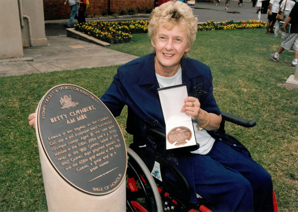 State Memorial Service for Betty Cuthbert to be held at @scg Monday 21 August 1pm. Entry via Gate A from 12.15pm. All welcome. #loveourSCG