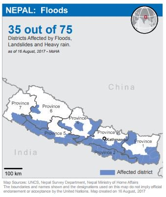 Nepal Flood Situation report produced by RCO in #Nepal and humanitarian partners for period from 14-16 Aug 2017.   http:// un.org.np/sites/default/ files/Nepal%20Flood%20Sitrep%2016%20August%202017.pdf &nbsp; … <br>http://pic.twitter.com/QTSWxolN2V