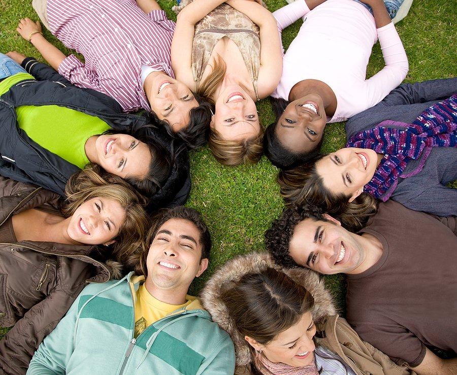 Удачные фотографии группа людей
