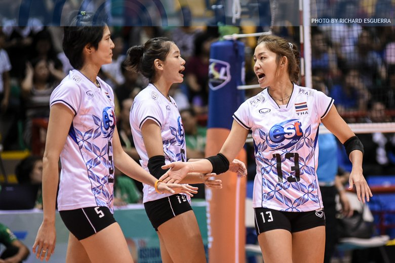 LOOK! #AVCWomensSCH Photos: Thailand def. South Korea 25-20, 25-20, 25...