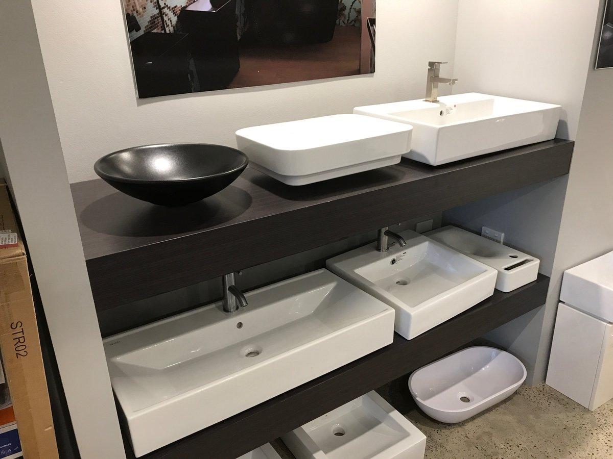 New Display @ACSBathrooms  #CrowsNest Showroom - #MatteBlack #Ceramic #Basins Designer #ClaudiaDamelon. Multiple finishes - 1300 898 889<br>http://pic.twitter.com/IAAqb8rm5B