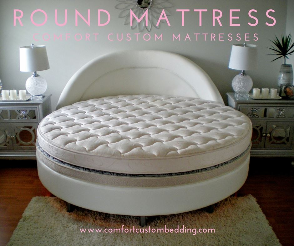 We #manufacture #round #mattresses and round beds in any custom size. There is various mattress options available for #comfort and #support.<br>http://pic.twitter.com/5QAWNFPA5Z