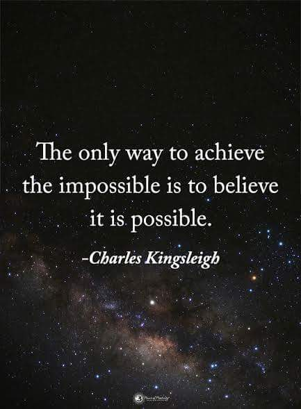 The only way to achieve the impossible..... #makeyourownlane #spdc #defstar5 #Mpgvip #IQRTG #SuccessTrain #startup  #entrepreneur<br>http://pic.twitter.com/yf68tr90Mb