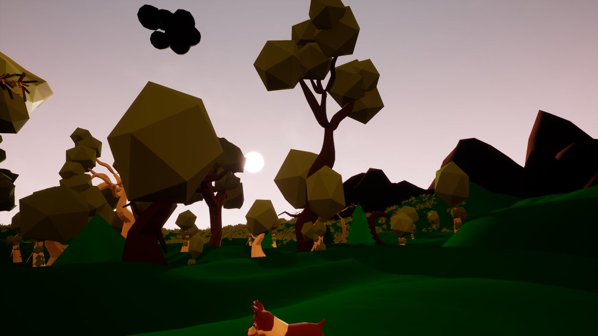 Still working on those dawn and dusk colors... #indiedev #gamedev<br>http://pic.twitter.com/wvvc6Xa6kf