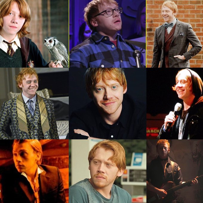 Happy 29th Birthday Rupert Grint!!!