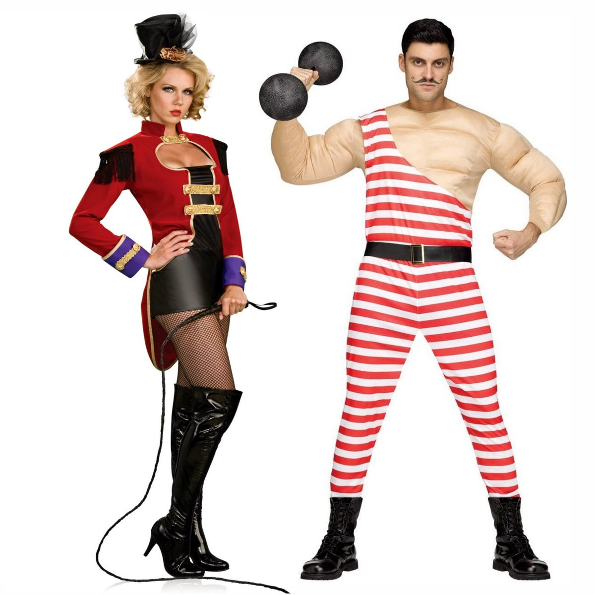 """asylum zone costumes on twitter: """"classic circus looks for couples"""