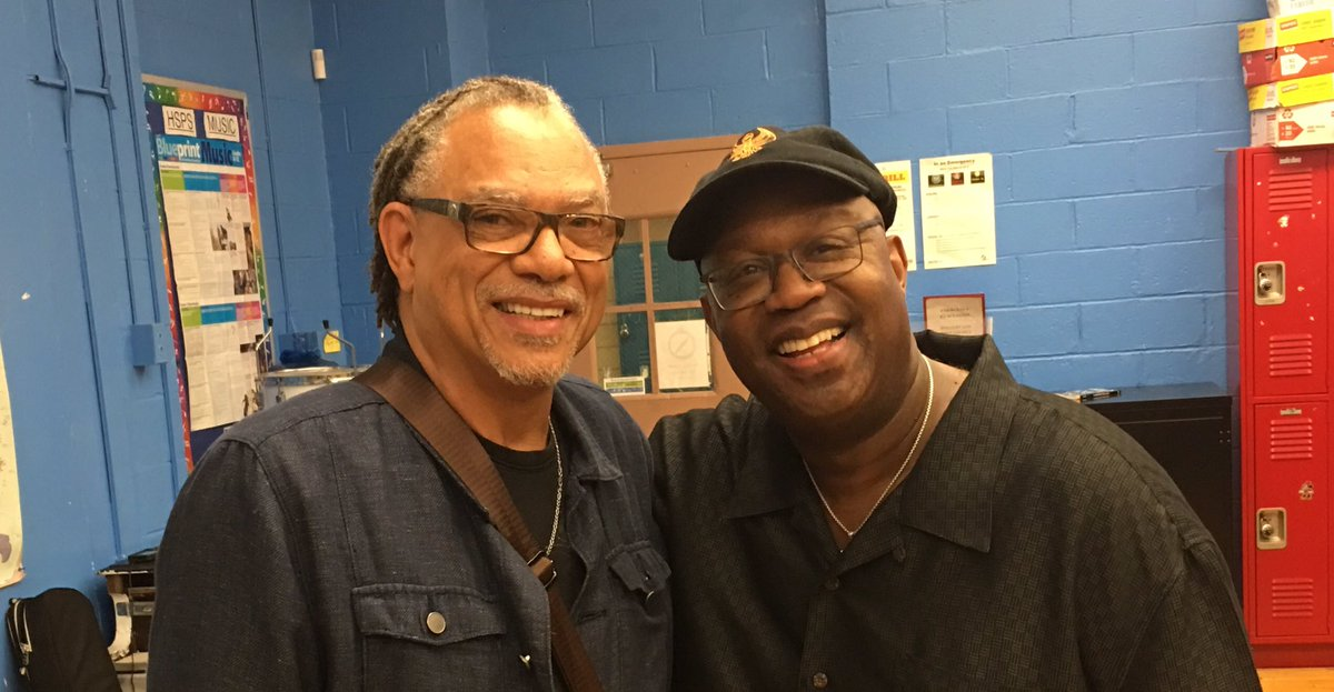 Here with the legendary producer/songwriter #HubertEaves who produced all of DTrain's hits. #KeepOn  #SomethingsOnYourMindpic.twitter.com/5pIv2dmPTr