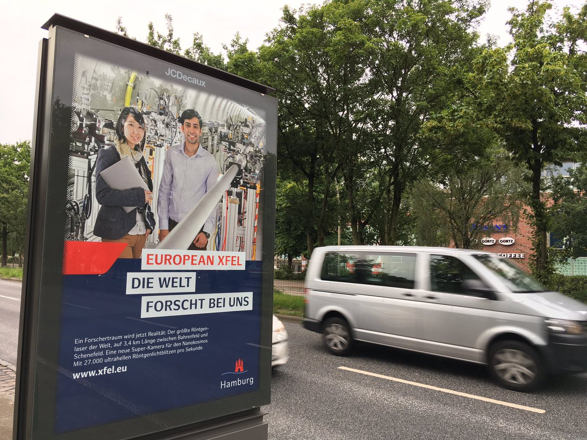 Our colleagues are appearing around #Hamburg to show how we&#39;re the world&#39;s new destination for science! #XFELisgo #scienceisglobal <br>http://pic.twitter.com/Rw1lr1RFks